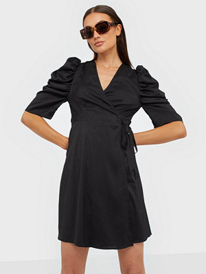 co'couture Justin Wrap Crop Dress