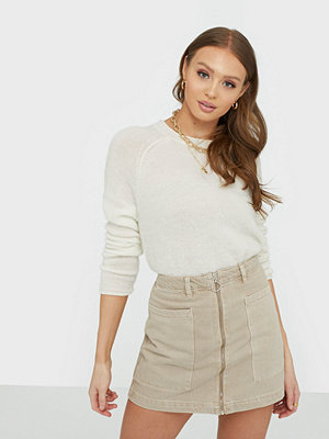 Gina Tricot Utility Zip Denim Skirt