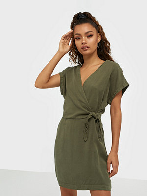 Vero Moda VMLISA SS SHORT WRAP DRESS GA