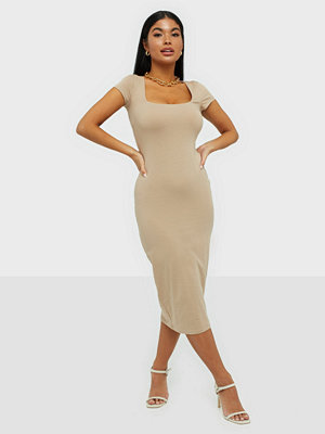 NLY Trend Square Neck Tee Dress