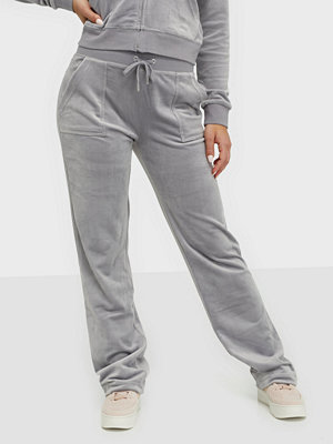Juicy Couture grå byxor Del Ray Classic Velour Pant