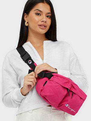 Champion Reverse Weave rosa axelväska Belt Bag