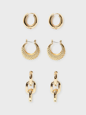NLY Accessories örhängen 3 pack Showbiz Earrings