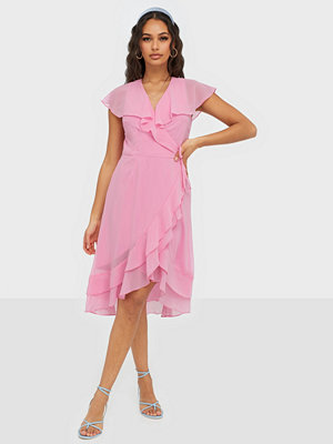 Vero Moda VMMAYA S/S WRAP FRILL DRESS EXP
