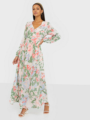 Selected Femme SLFZAMBA LS  MAXI DRESS B