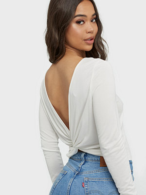 Toppar - Only Onlfree Life L/S Knot Back Top Jrs
