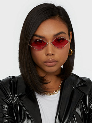 NLY Accessories Lips Are Sealed Sunglasses