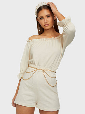 Jumpsuits & playsuits - NLY Trend Off Shoulder Playsuit