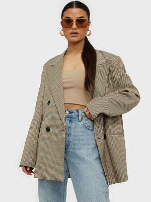 co'couture Oversize Check Blazer