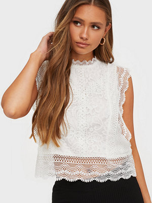 Only Onlkaro S/L Lace Top Wvn