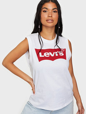 Toppar - Levi's On Tour Tank Red Hsmk Tank Whi