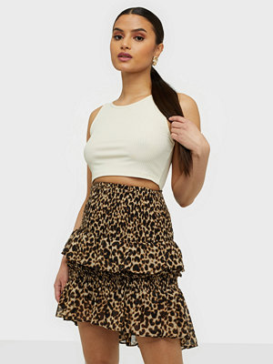co'couture Adore Animal Smock Skirt