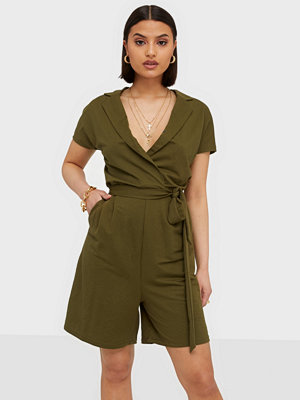Jumpsuits & playsuits - Vila VISAFINA S/S PLAYSUIT - FAV NX