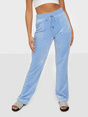 Juicy Couture omönstrade byxor Del Ray Classic Velour Pant