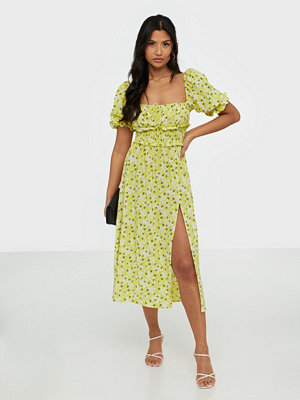 For Love & Lemons Chrysanthemum Midi Dress