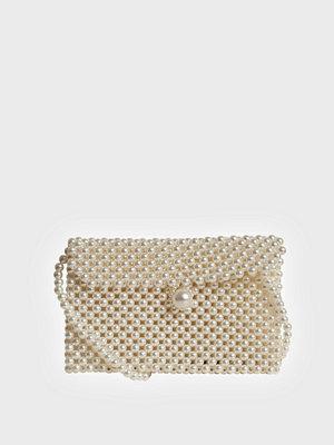 Object Collectors Item cremefärgad väska OBJLINA PEARL CROSSOVER 109