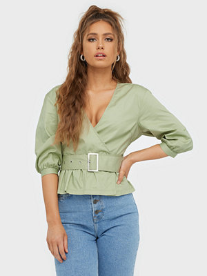 NLY Trend Belt Wrap Blouse