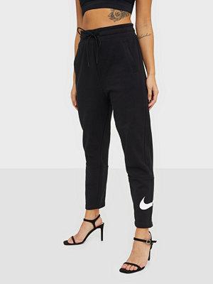 Nike svarta byxor med tryck W Nsw Swsh Pant Ft