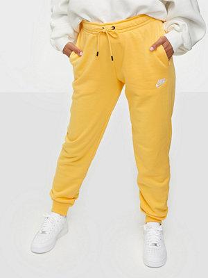 Nike gula byxor W Nsw Essntl Pant Reg Flc