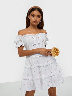 For Love & Lemons Rainey Off The Shoulder Mini Dress