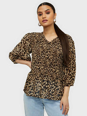 co'couture Adore Animal Smock Blouse