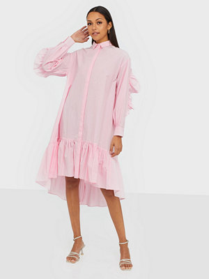Y.a.s Yasdanola Ls Midi Shirt Dress S.