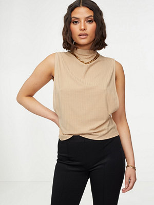 NLY Trend Deep Side Rib Top