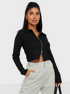 NLY Trend Double Zip Top