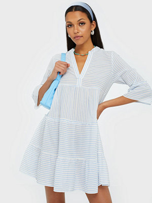 Vero Moda Vmheli 3/4 Short Dress Wvn Ga Vit