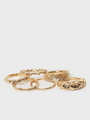 NLY Accessories Melted Ring Set