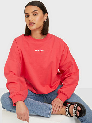 Wrangler Summer Weight Sweat Paradise Pink