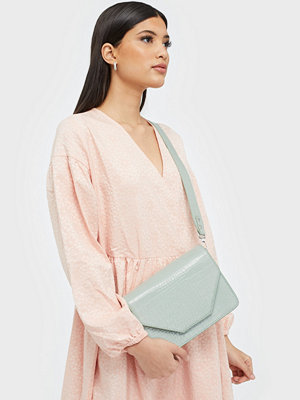 Unlimit ljusgrå axelväska Shoulder bag Rosemary