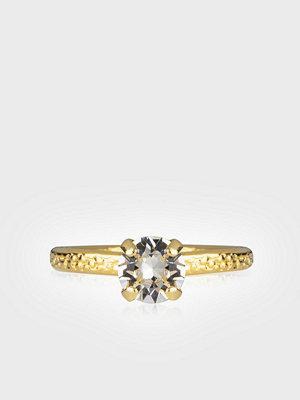 Caroline Svedbom svart smycke Natti Ring Gold