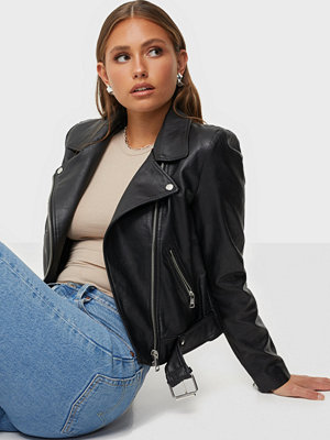 Only Onlvalerie Faux Leather Jacket Cc O
