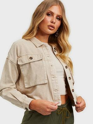 Jeansjackor - Noisy May Nmellen L/S Short Jacket
