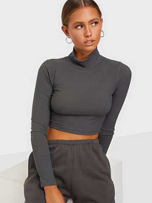 NLY Trend Light Rib Crop Top