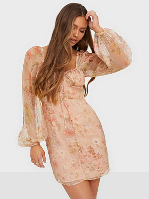 Glamorous Corset Baloon Sleeve Dress