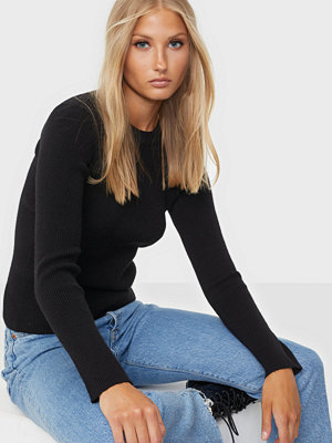 Pieces Pcbassy Ls O-Neck Knit