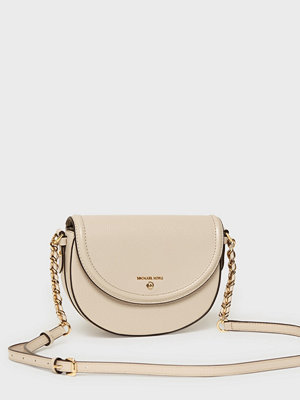 MICHAEL Michael Kors axelväska Jet Set Charm Half Dome Crossbody Light Sand