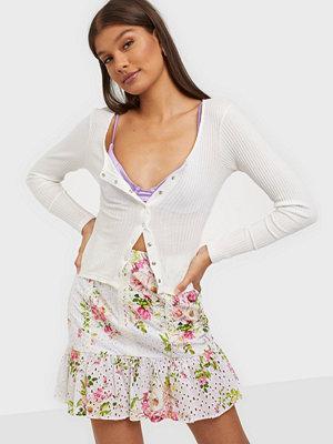 River Island Bella Floral Broiderie Mini Skirt