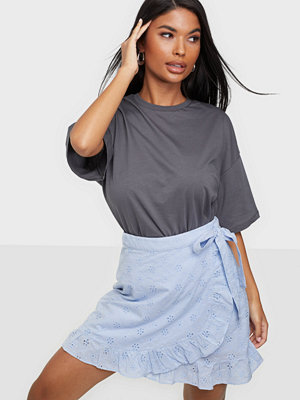 Pieces PCMARTH MW WRAP SKIRT BC