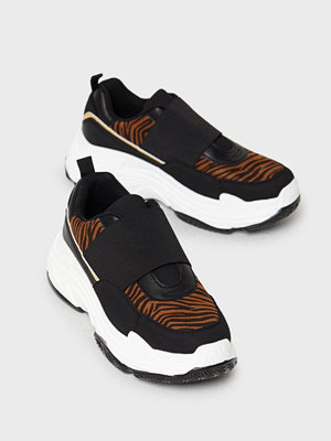 Duffy Tiger Elastic Sneakers