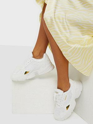 Adidas Originals Falcon W Vit/Gul