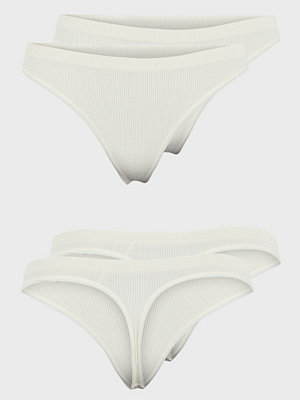 Pieces PCSYMMI RIB THONG 2-PACK NOOS BC