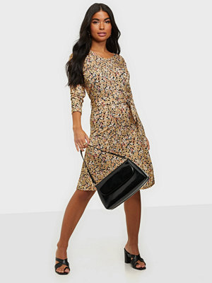 Calvin Klein PRINT 3/4 SLV JERSEY DRESS