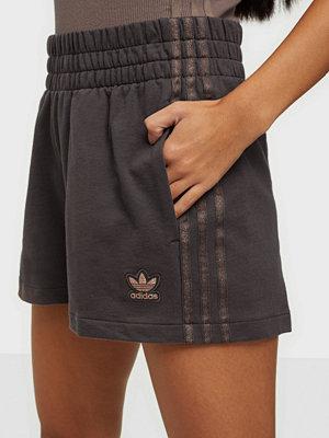 Shorts & kortbyxor - Adidas Originals 3 Stripes Short Offblack