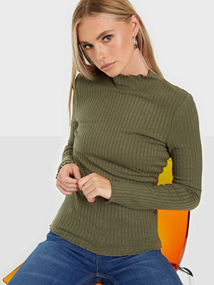 Noisy May Nmberry L/S High Neck Top S