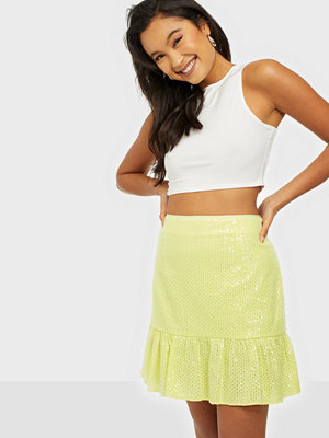 River Island Bella Sequin Mini Skirt