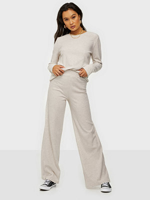 NLY Trend Ribbed LS Cozy Set