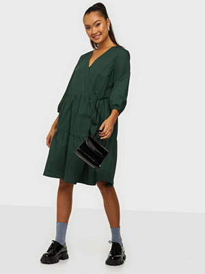 Object Collectors Item OBJSCHINNI L/S WRAP DRESS PB8
